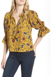 Misa Los Angeles Danee Floral Top - Product Mini Image