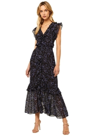 Misa Los Angeles Kidada Dress In Midnight Floral - Product Mini Image