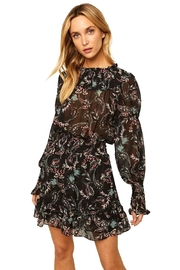Misa Los Angeles Marin Dress In Enchanted Paisley - Front cropped