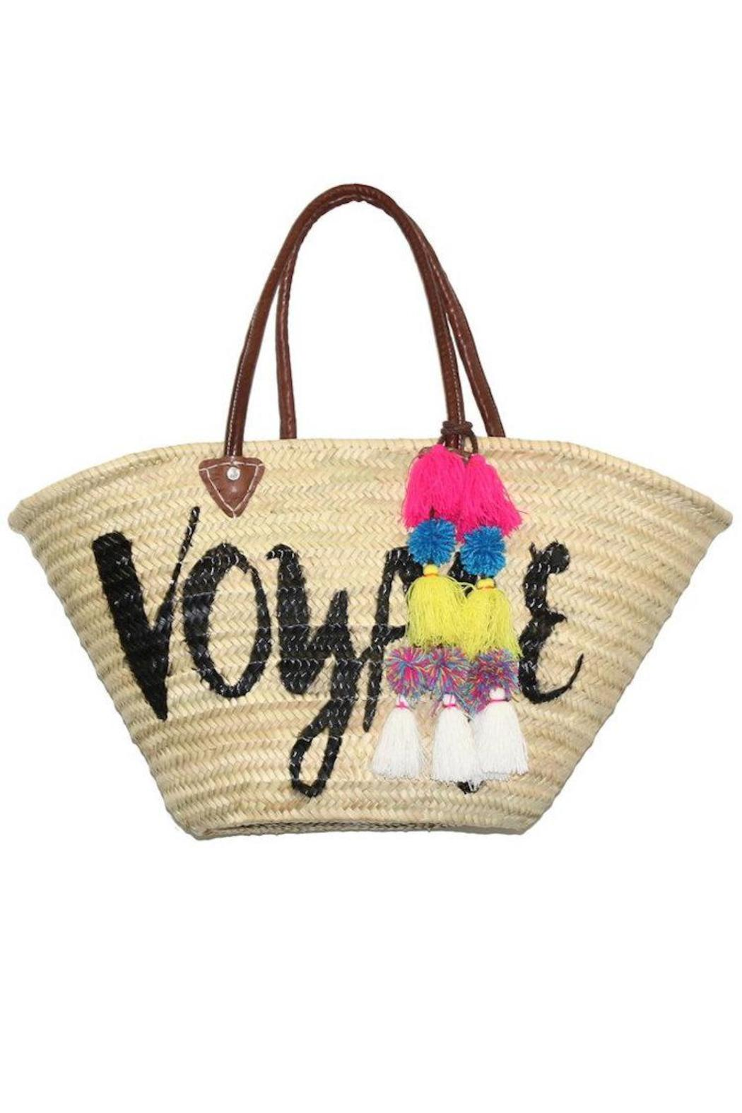 Misa Los Angeles Marrakech Beach Tote - Front Cropped Image