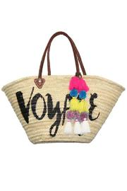 Misa Los Angeles Marrakech Beach Tote - Front cropped