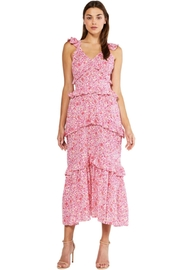 Misa Los Angeles Morrison Dress In Pink Animal - Product Mini Image