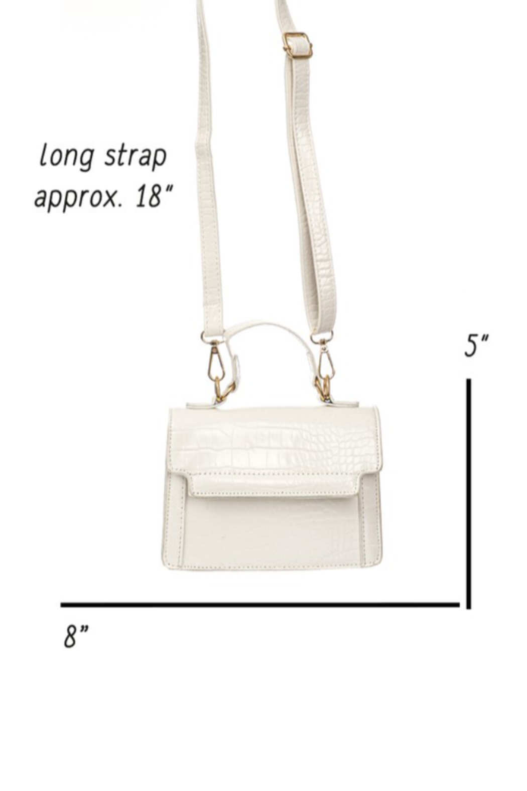 Fame Accessories Mischa Mini Bag - Side Cropped Image
