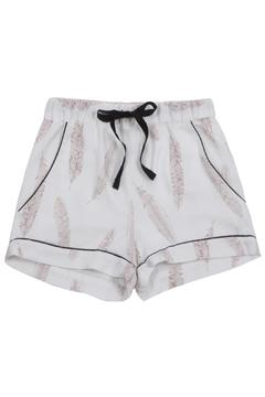 Mish London Feather Print Shorts - Product List Image