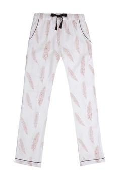 Shoptiques Product: Feather Print Trousers