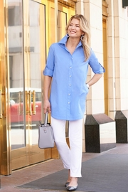Misook Collection Classic Tunic Shirt - Product Mini Image