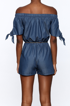 miss avenue  Fun Denim Romper - Alternate List Image