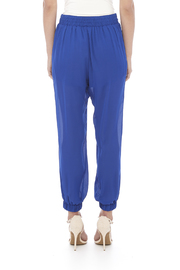 miss avenue  Lined Jogger Pants - Back cropped