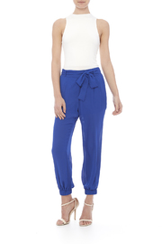 miss avenue  Lined Jogger Pants - Front full body