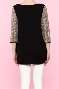 Shoptiques Product: Sequin Sleeve Top