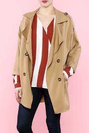 Miss Darlin Khaki Parka Jacket - Product Mini Image