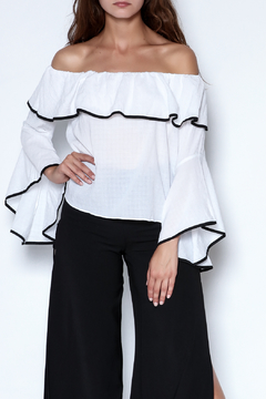 Shoptiques Product: Ruffle Crop Top