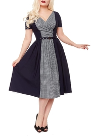 1950s Housewife Dress | 50s Day Dresses Miss Mabel Dress $69.00 AT vintagedancer.com