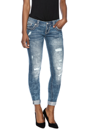 Miss Me Distressed Skinny Jeans - Product Mini Image