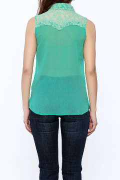 Shoptiques Product: Lace Embroidered Tank