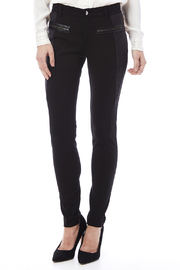 Miss Me Lace Up Detail Skinny Pants - Front cropped