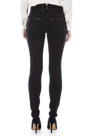 Miss Me Lace Up Detail Skinny Pants - Back cropped