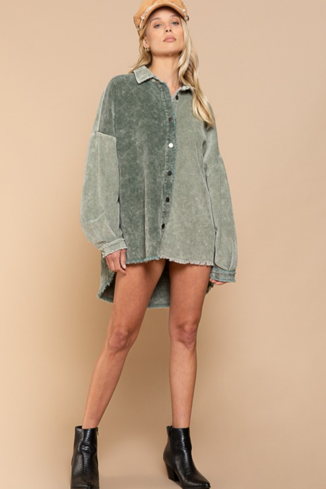 POL  Miss Moss Jacket - Front Cropped Image