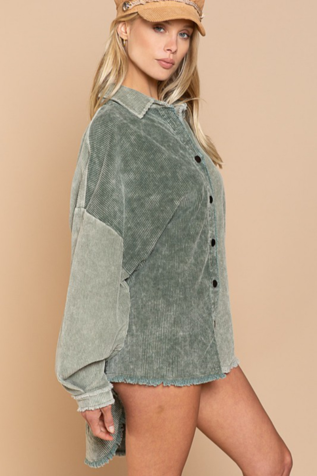 POL  Miss Moss Jacket - Front Full Image