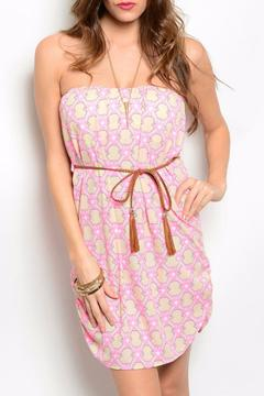 Shoptiques Product: Pink Pattern Dress