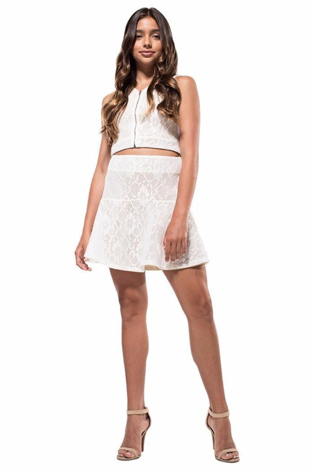 a6d678b9d0b8 Miss Behave girls Tessa White Set from Miami by Neptunes — Shoptiques