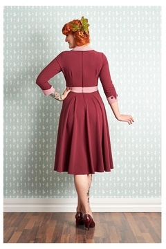 Miss Candyfloss Hania Plum Dress - Alternate List Image