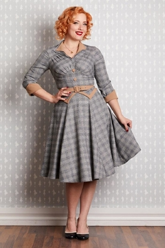 Miss Candyfloss Juniper Tailored Swing-Dress - Product List Image