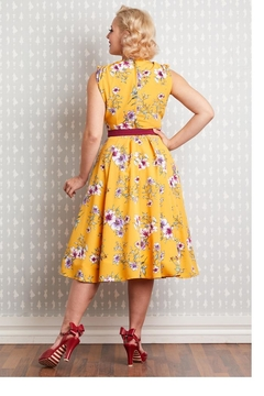 Miss Candyfloss Novalie-Sun Floral Swing-Dress - Alternate List Image