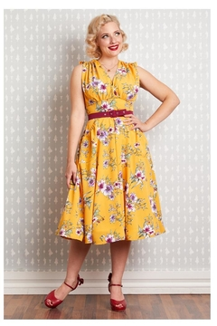 Miss Candyfloss Novalie-Sun Floral Swing-Dress - Product List Image