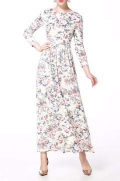Miss Finch Floral Maxi Dress - Product List Image