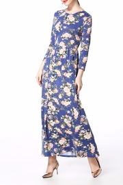 Miss Finch Maxi Floral  Dress - Product Mini Image