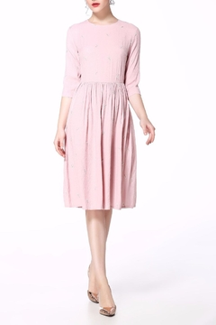 Miss Finch Modest Pink Dress - Product List Image