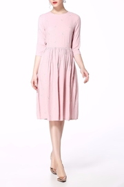 Miss Finch Modest Pink Dress - Product Mini Image