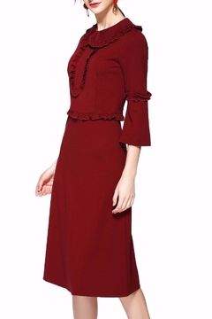 Miss Finch Modest Ruffled Dress - Product List Image