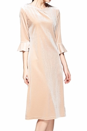 Miss Finch Modest Velvet Dress - Product Mini Image