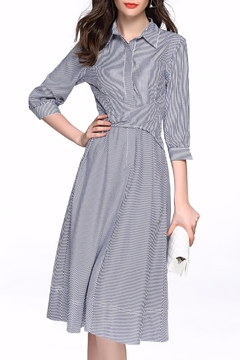 Shoptiques Product: Pin Striped Dress