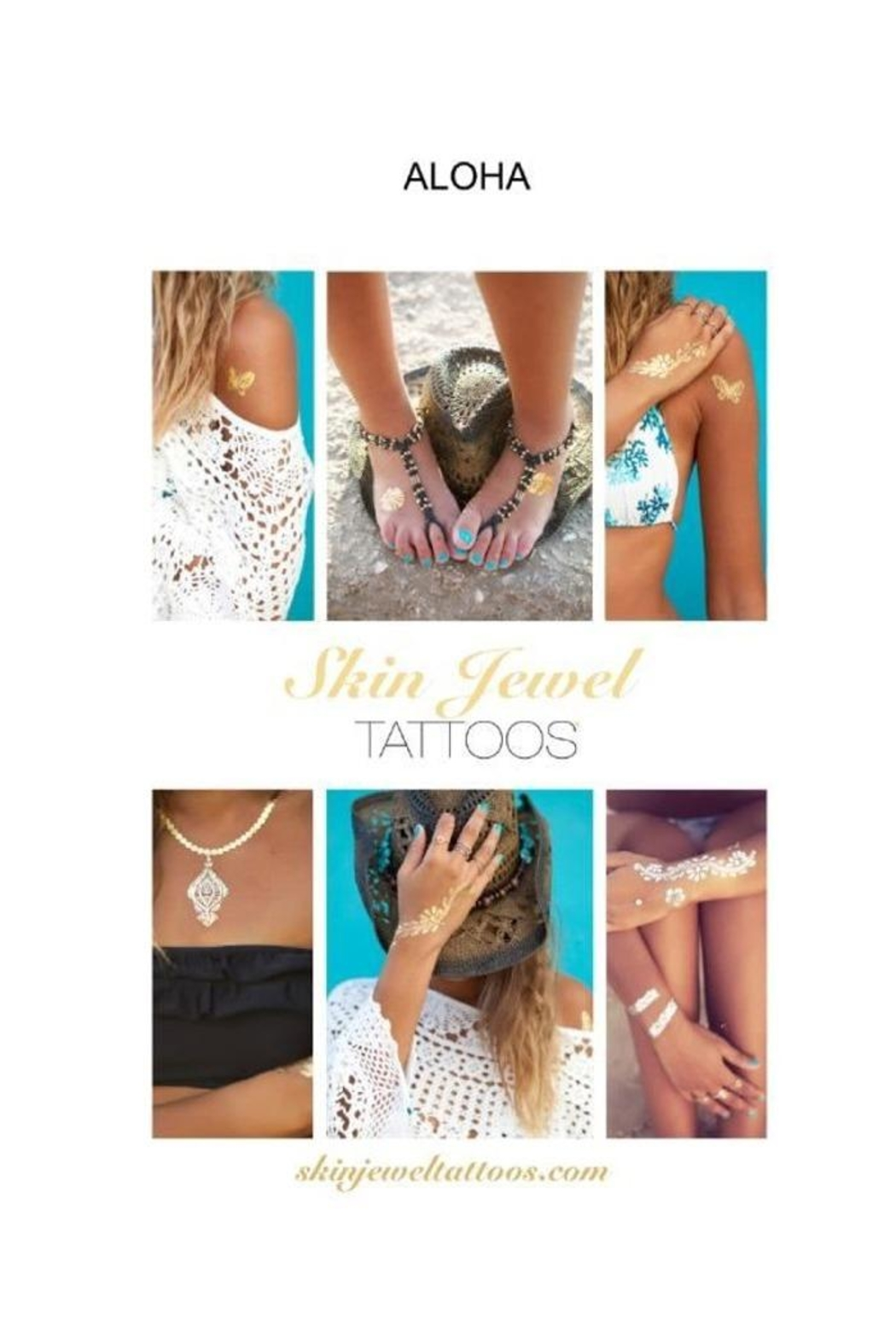 Miss June Temporary Tattoos - Front Cropped Image