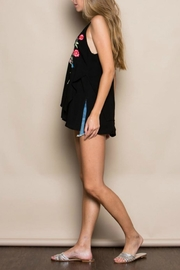 Miss Love Embroidered Double-Layer Tank - Side cropped