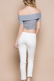 Miss Love Off-Shoulder Bow Top - Side cropped