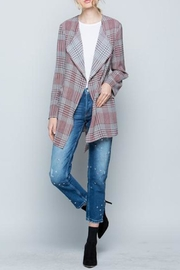 Miss Love Plaid Jacket - Product Mini Image