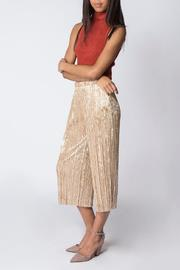 Miss Love Velvet Pleated Pant - Product Mini Image