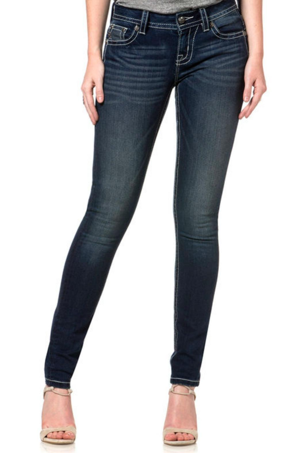 Miss Me Angelic Mid-Rise Skinny - Main Image
