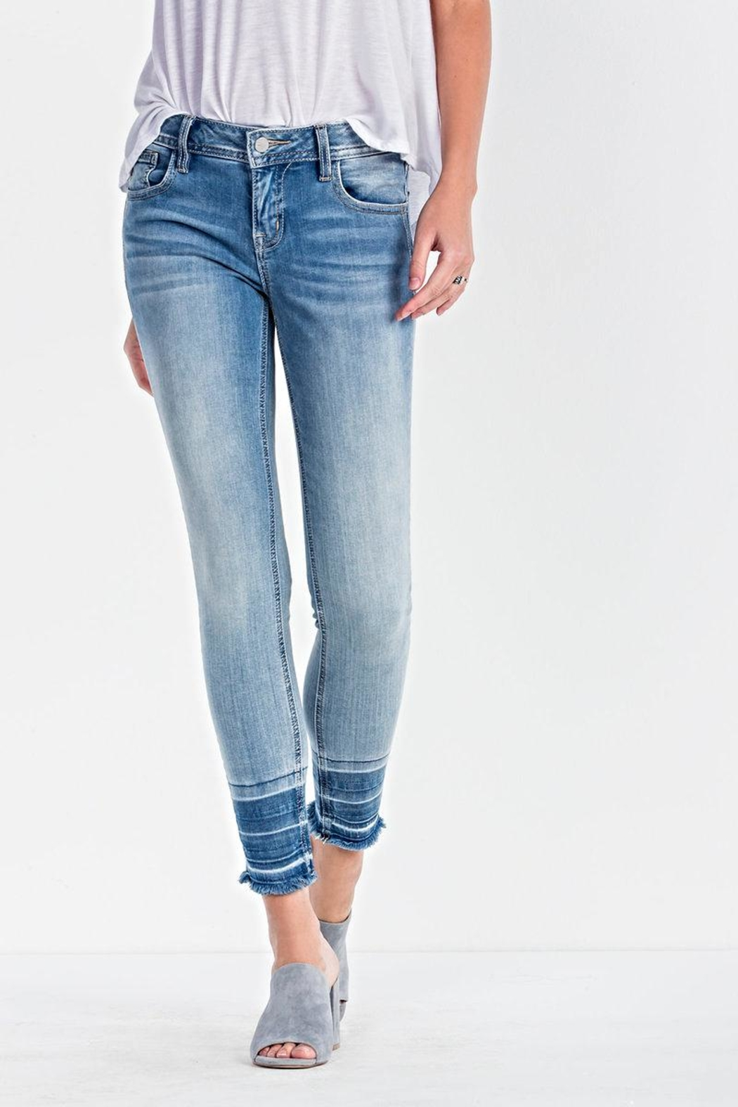 Miss Me Ankle Skinny Jeans - Main Image