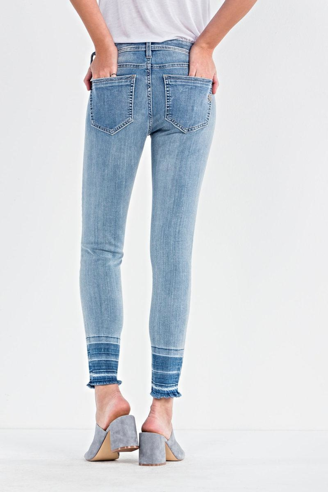Miss Me Ankle Skinny Jeans - Side Cropped Image