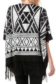 Miss Me Autumn Breeze Poncho - Side cropped