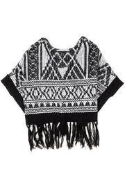 Miss Me Autumn Breeze Poncho - Other