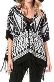 Miss Me Autumn Breeze Poncho - Front cropped
