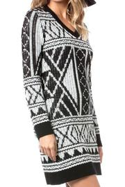Miss Me Breeze Sweater Dress - Front full body