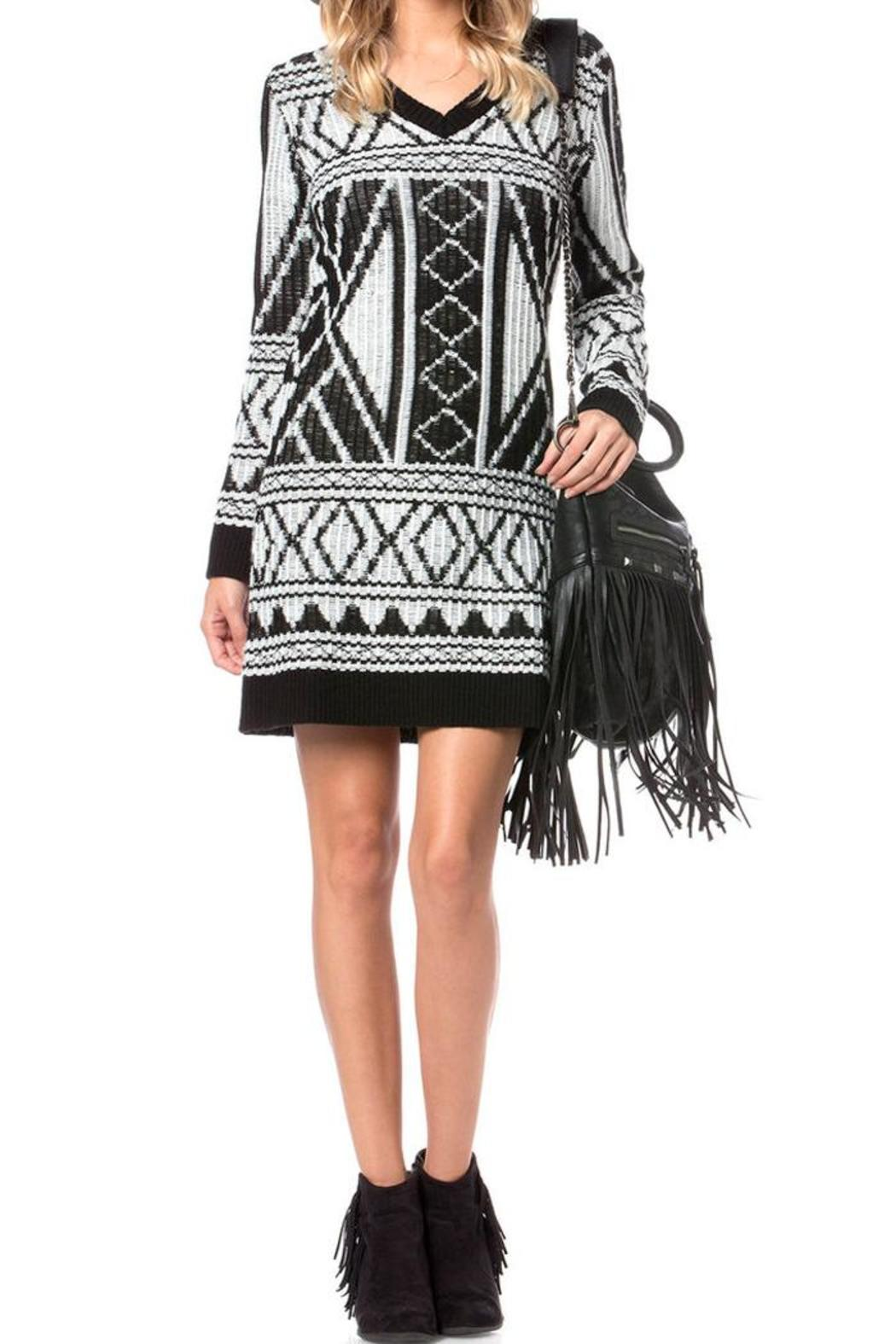 Miss Me Breeze Sweater Dress - Main Image
