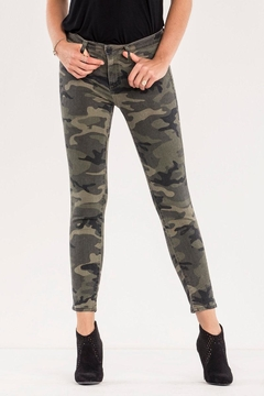 Miss Me Camo Skinny Jean - Product List Image